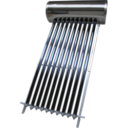 Panou solar presurizat compact INTEGRAL INOX 25 tuburi vidate boiler 250 litri