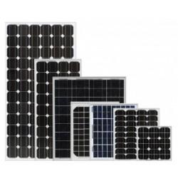 Panou solar fotovoltaic 100 Wp semiflexibil monocristalin