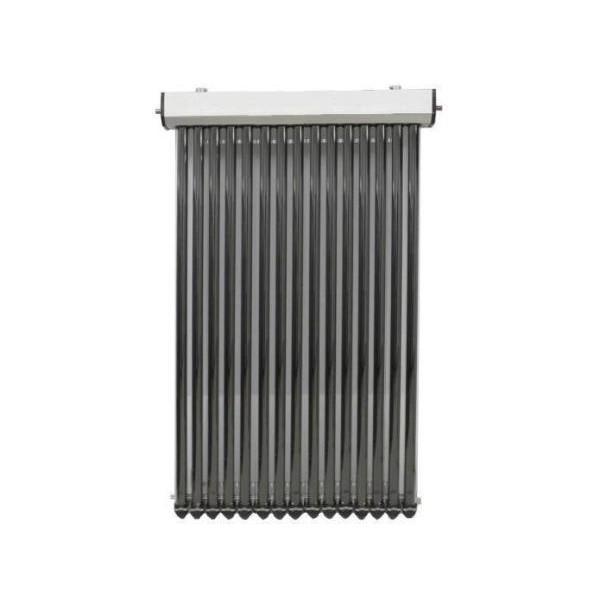 Colector solar presurizat, 15 tuburi vidate heat-pipe