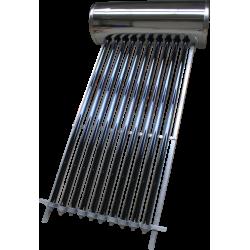 Panou solar presurizat compact INTEGRAL INOX 12 tuburi vidate boiler 120 litri