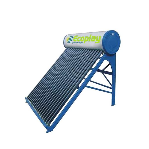 Panou solar nepresurizat fara flotor, boiler 136 litri, 16 tuburi vidate.