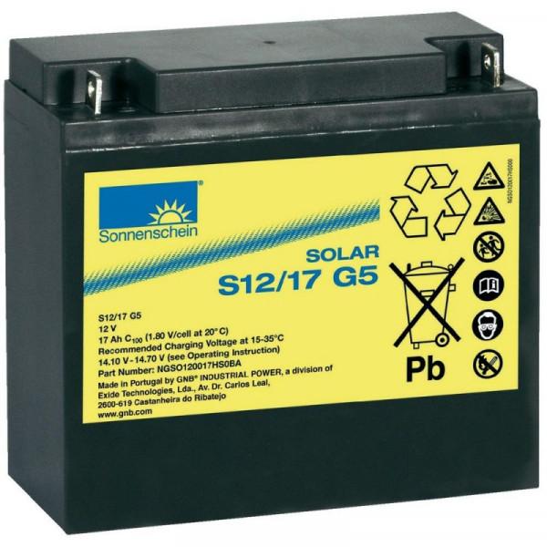Baterie solara Sonnenschein Solar S12 17 G5
