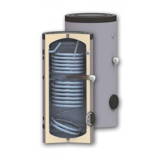 Boiler bivalent 160 litri pentru preparare apa calda menajera