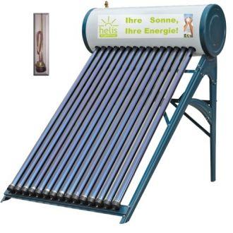 Panou solar cu 20 tuburi vidate si boiler presurizat 180 litri Helis JDL-HP20-58/1.8