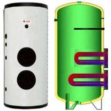 Boiler cu doua serpentine flansat ELBI BF-2 1500