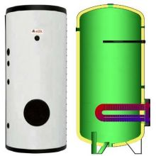Boiler cu o serpentina flansat ELBI BF-1 5000