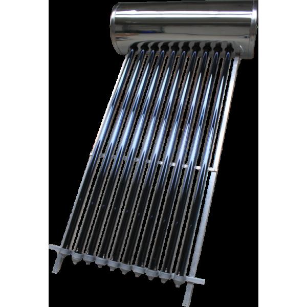 Panou solar presurizat compact Panosol 150 SP cu 12 tuburi vidate si boiler 120 litri