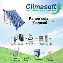 Panou solar kit 30 tuburi vidate fara boiler