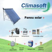 Pachet panou solar Sontec SPA 12 tuburi vidate heat-pipe fara boiler