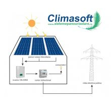 Sistem fotovoltaic on-grid 4 kWp