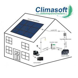 Sistem fotovoltaic off-grid 7 kW pe zi