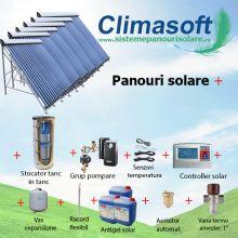 Pachet panouri solare cu aport la incalzire, casa 150 mp