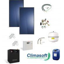 Pachet 2 panouri solare plane Bosch 7000 TF FT226-2V de 2.55 mp fara boiler