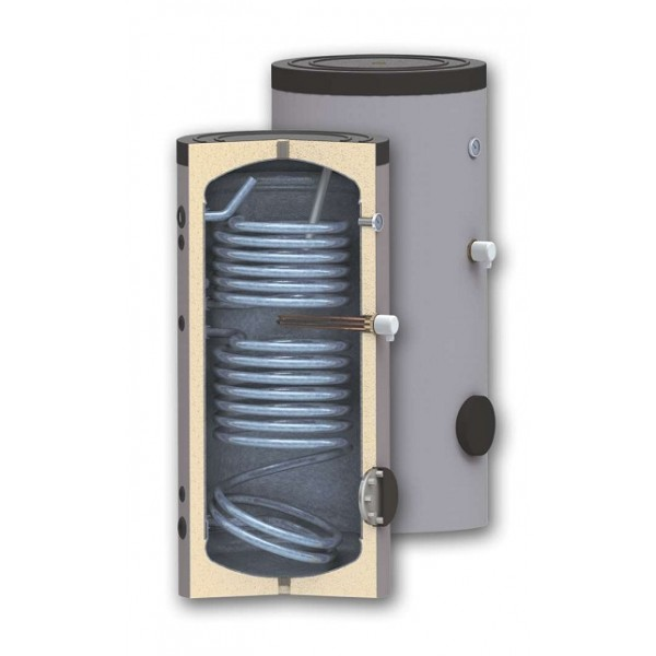 Boiler bivalent 150 litri pentru preparare apa calda menajera